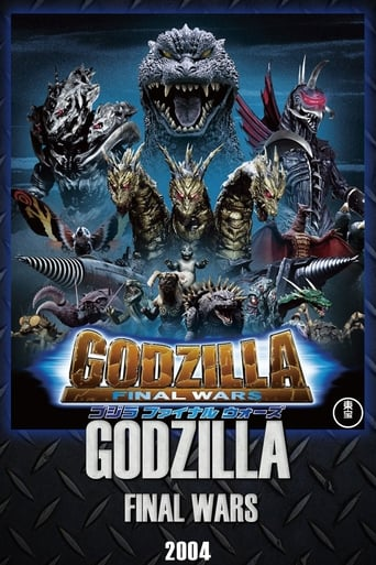 Poster of Godzilla: Final Wars