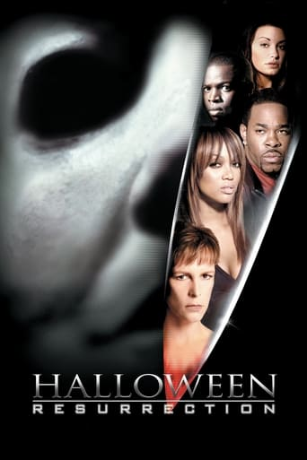 Poster of Halloween: Resurrection