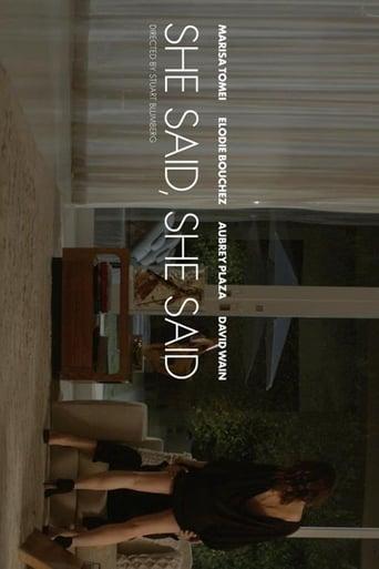 Poster of She Said, She Said