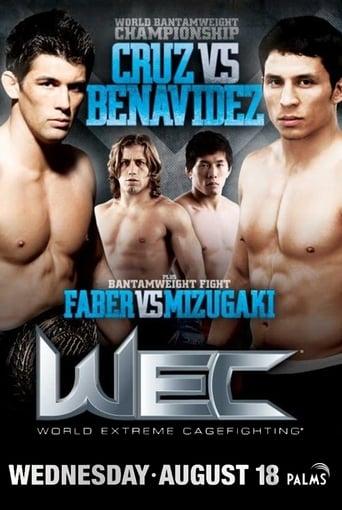 Poster of WEC 50: Cruz vs. Benavidez 2