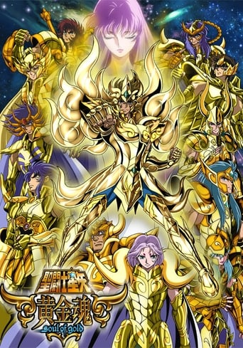 Poster of Saint Seiya: Soul of Gold