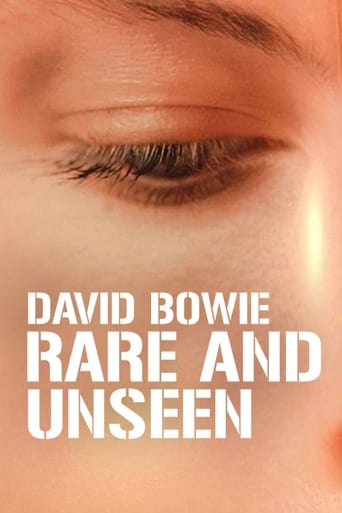 Poster of David Bowie: Rare and Unseen