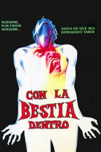 Poster of Con la bestia dentro