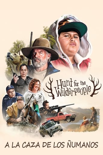 Poster of Hunt for the Wilderpeople, a la caza de los ñumanos