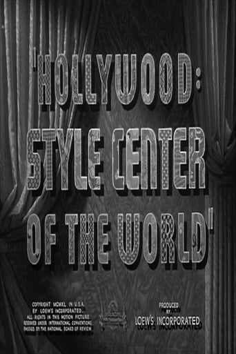 Poster of Hollywood: Style Center of the World