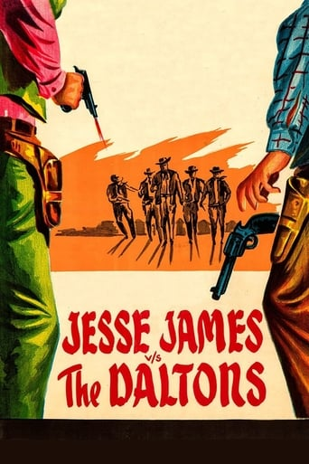 Poster of Jesse James vs. the Daltons
