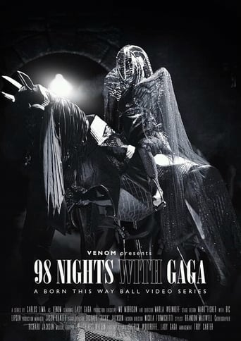 Poster of 98 Nights With Gaga