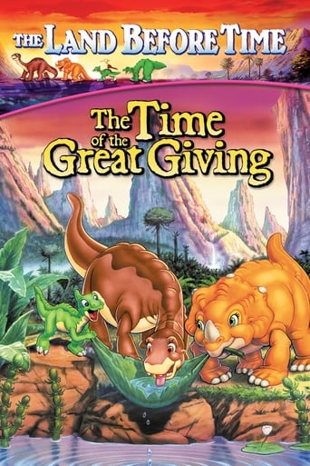 Poster of The Land Before Time III: The Time of the Great Giving