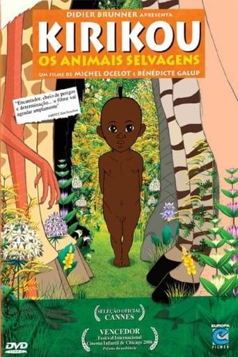 Kirikou e os Animais Selvagens - Poster