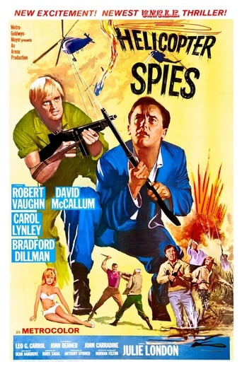 Poster of The Helicopter Spies