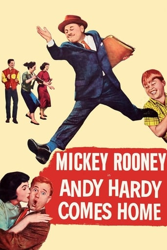 Poster of Andy Hardy Comes Home