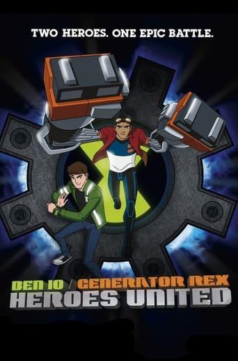 Poster of Ben 10 Generator Rex Heroes United