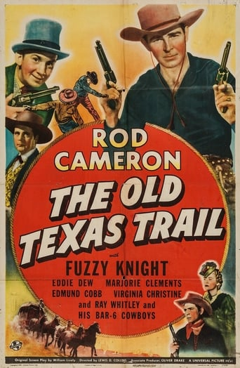 Poster of The Old Texas Trail