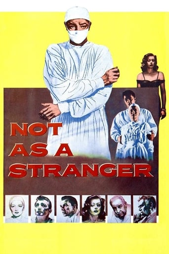 Poster of Not as a Stranger