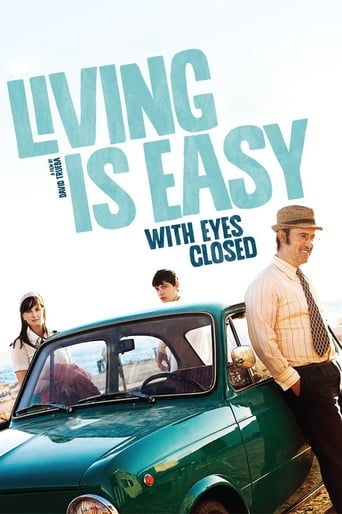 Poster of Living Is Easy with Eyes Closed