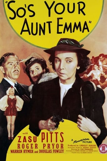 Poster of So's Your Aunt Emma!