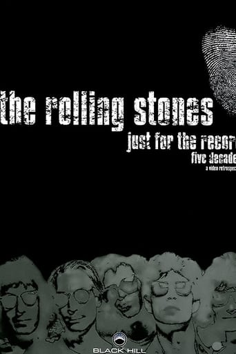 Poster of The Rolling Stones: Just for the Record