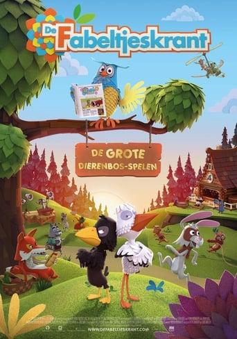 Poster for De Fabeltjeskrant: de Grote Dierenbos-spelen