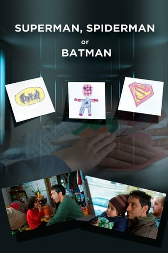 Poster of Superman, Spiderman or Batman