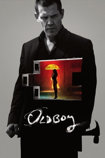 The poster of Oldboy