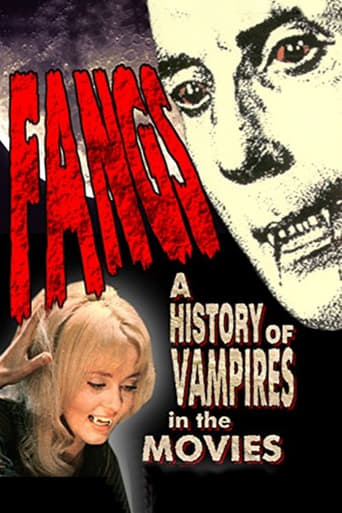Poster of Fangs! A History of Vampires in the Movies