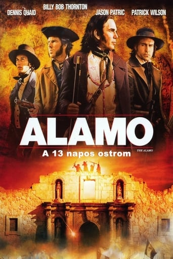 Poster of Alamo - A 13 napos ostrom