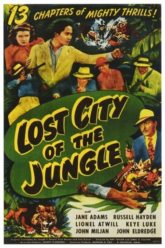 Poster of Lost City of the Jungle