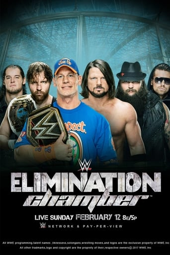 Poster of WWE Elimination Chamber 2017