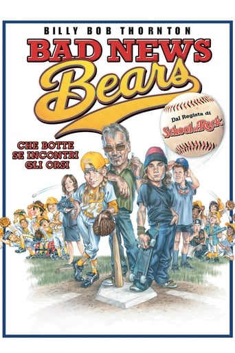 Poster of Bad news bears - Che botte se incontri gli orsi!