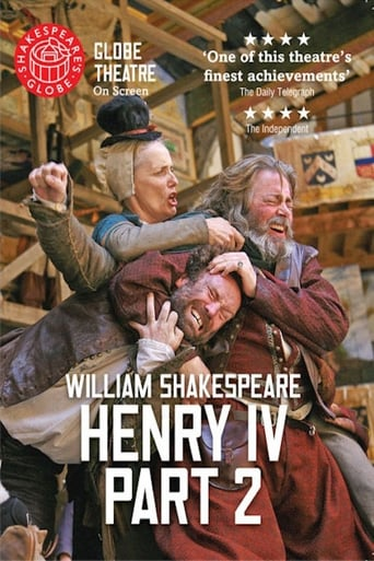 Poster of Henry IV Part 2: Shakespeare's Globe Theatre