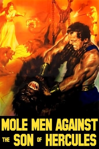 Poster of Mole Men Against the Son of Hercules