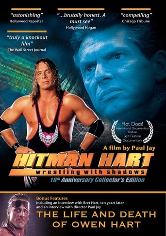 Poster of Hitman Hart: Wrestling With Shadows - 10th Anniversary