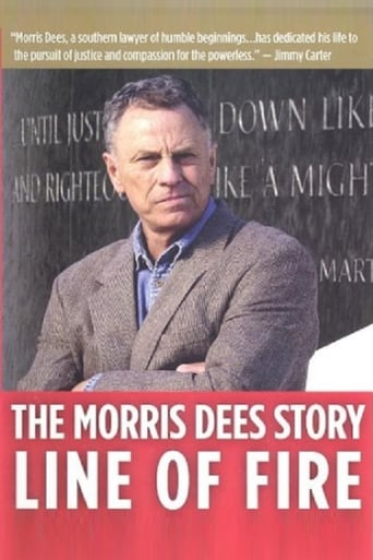 Poster of Line of Fire: The Morris Dees Story