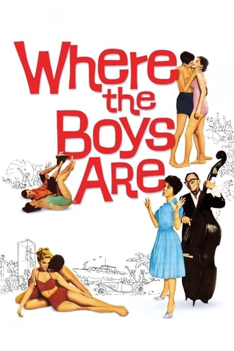 Poster of Where the Boys Are