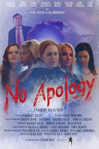 No Apology Poster