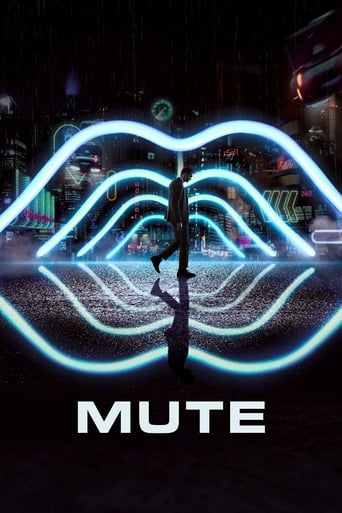 Official movie poster for Mute (2018)
