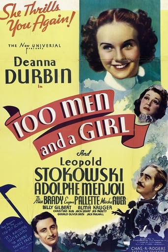Poster of One Hundred Men and a Girl