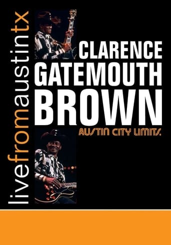 Clarence Gatemouth Brown: Live from Austin TX