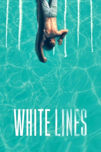White Lines Poster