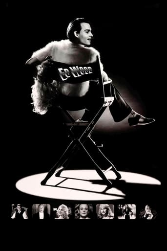 Ed Wood (1994) - poster