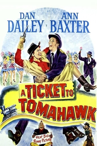 Poster of A Ticket to Tomahawk