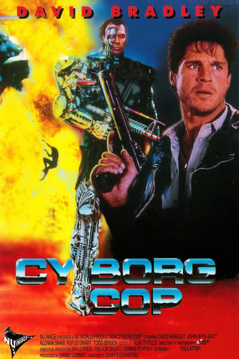 Cyborg Cop: A Guerra do Narcotráfico - Poster