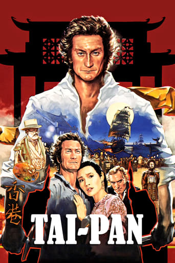Official movie poster for Tai-Pan (1986)