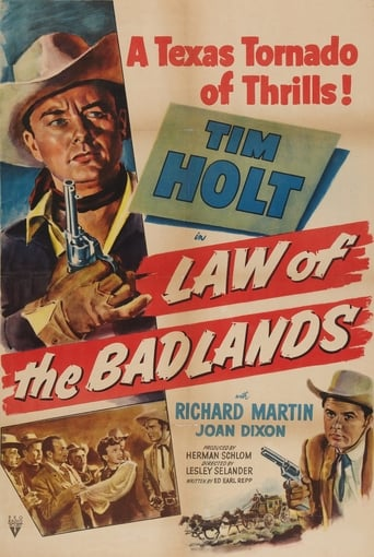 Poster of Law of the Badlands