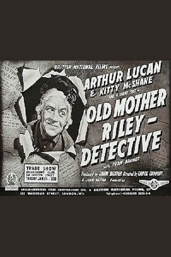 Poster of Old Mother Riley Detective