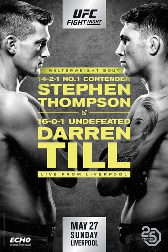 Poster of UFC Fight Night 130: Thompson vs. Till
