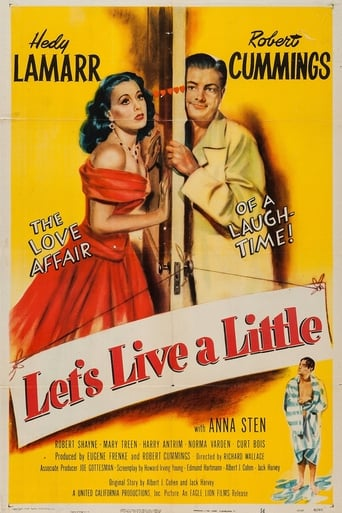 Poster of Let's Live a Little
