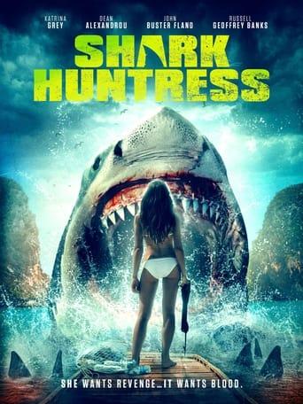 Shark Huntress Poster