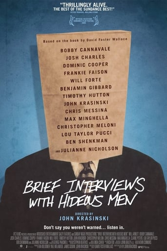 Poster of Brief Interviews with Hideous Men