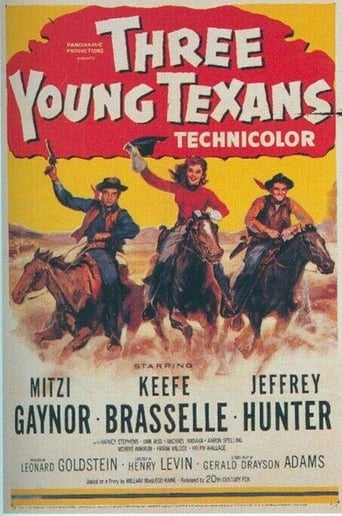 Poster of Three Young Texans